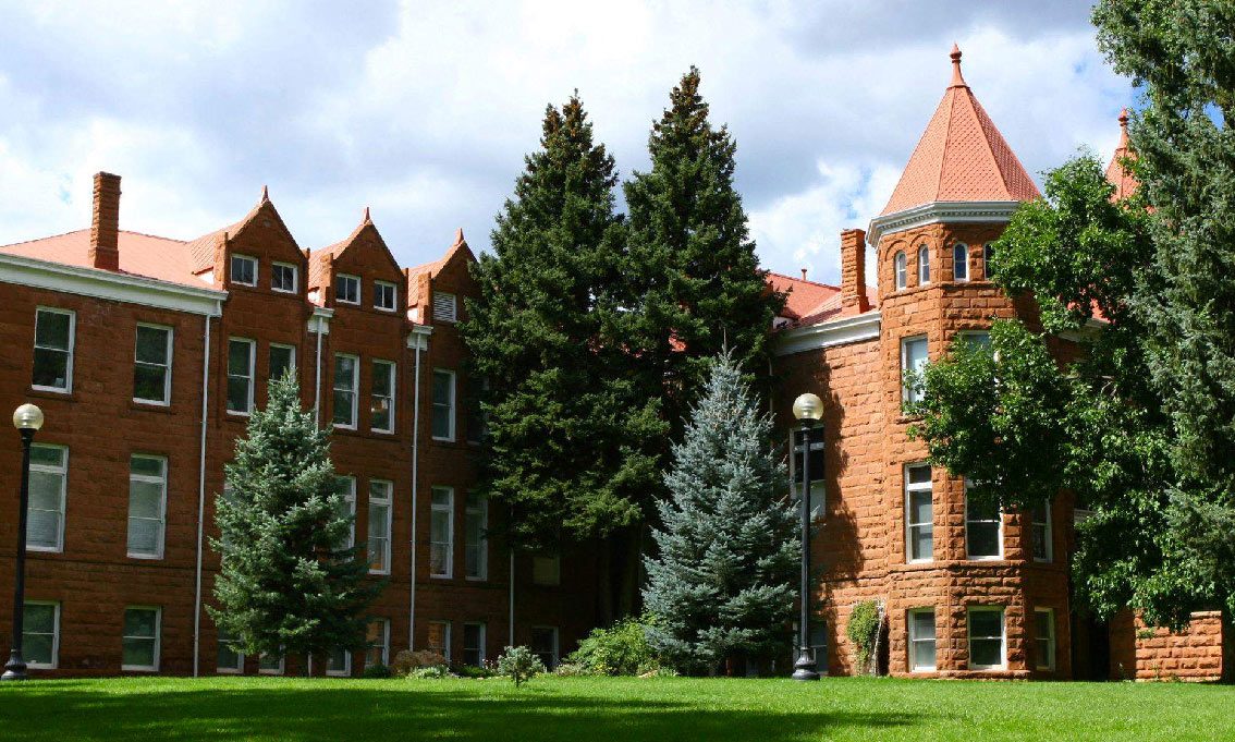 The Old Main Building At NAU